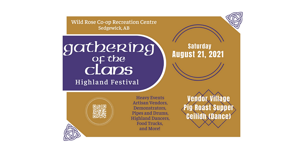 3rd Annual Gathering of the Clans Highland Festival