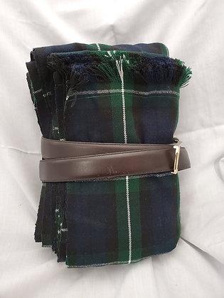 Regiment of Foot Great Kilt with Belt, Wool