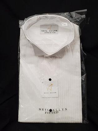 White Tuxedo Shirts, Long Sleeve