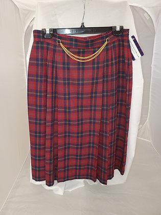 Preowned Tartan Skirt