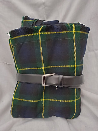 Gordon Great Kilt with Belt, Wool