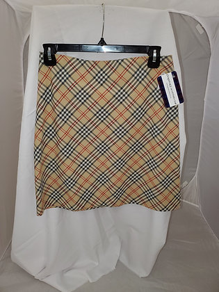 Thomson Camel Plaid Skirt