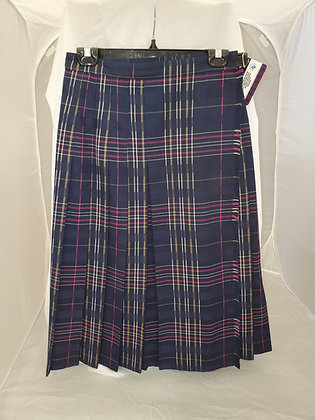 Navy and Pink Kilt