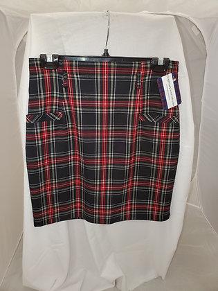 Black Stewart Tartan Skirt