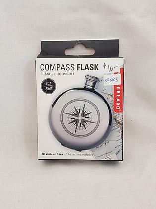 Compass Flask 3oz