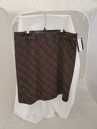 Reitmans Burns Argyle Skirt