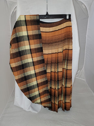 Reversible Kilt, Unknown Tartan