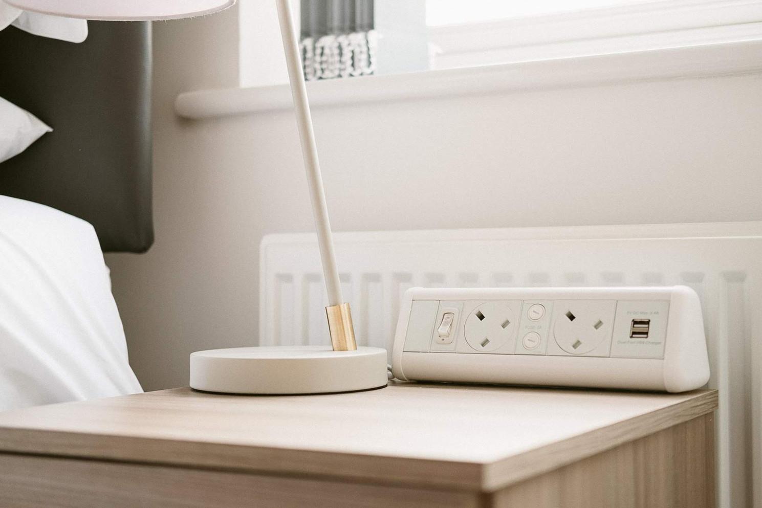 Bedside Table Plugs