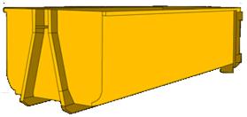 20m3 Hook bin bulk bin wagga wagga small