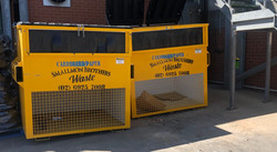 6m3 Cardboard cage bins