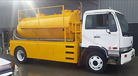 Liquid waste pumpout truck