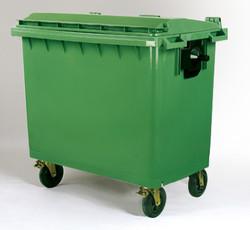Mobile Garbage Bin 660L