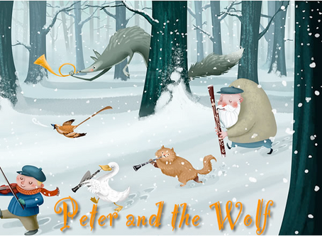 04.12.20 | Peter and the Wolf by Sergei Prokofiev
