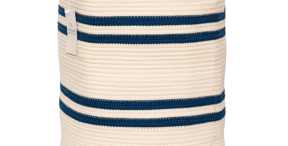 "Navy White Extra Large - 19"" H x 16"" D"