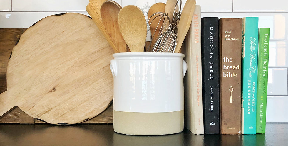 Kitchen Utensil Crock