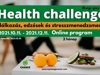 Health Challenge - online életmód program
