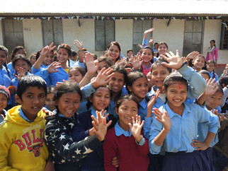 7th, 8th U-Learning schools in Nepal.
