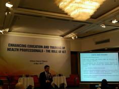 (ADB) Enhancing education and training of health professionals - The role of ICT in HANOI