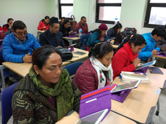 An exam based on UBT in Dept. of special needs education, Tribhuvan University