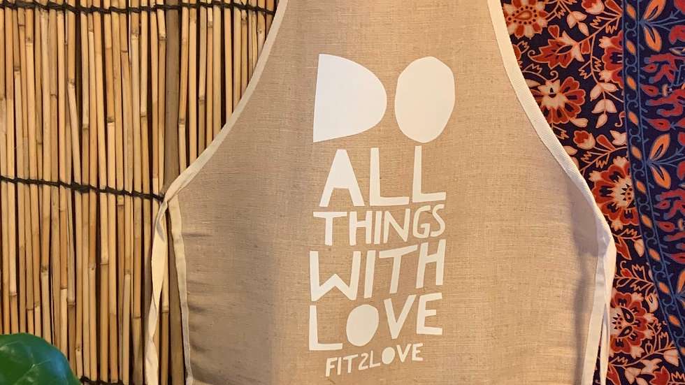Do All Things With Love Apron
