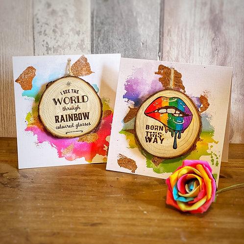 Personalised Pride Cards