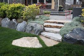 Siloam stone steps