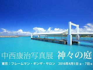東京で個展 「神々の庭」