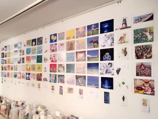 東京でポストカード展
