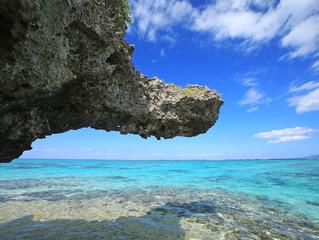 小島の亀岩