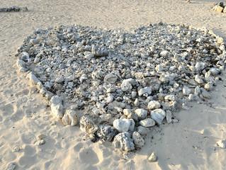 大浜のハート