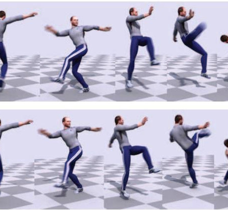 Physics-based Character Motion Research