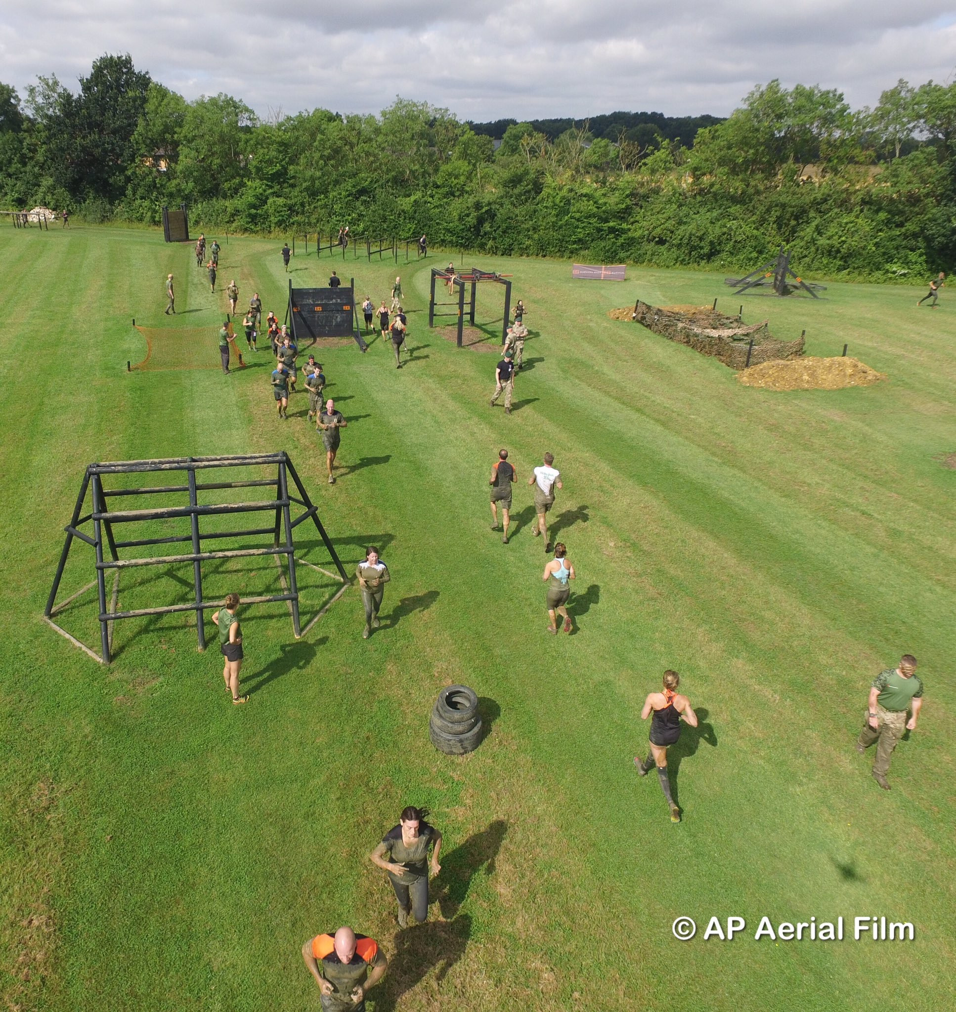 10th July Assault Course Fitness
