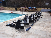 PADI training St Helena