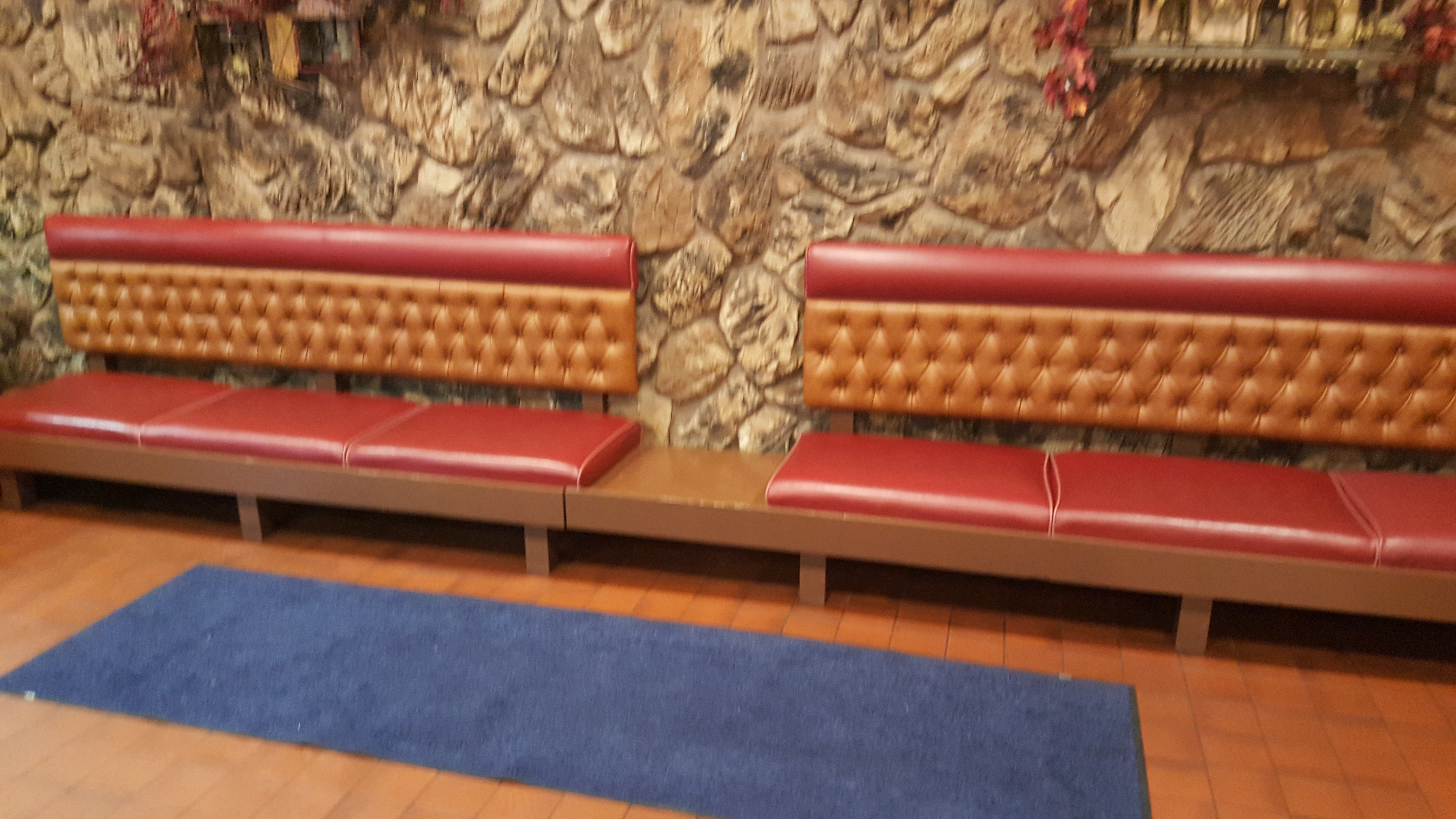 Lobby Benches