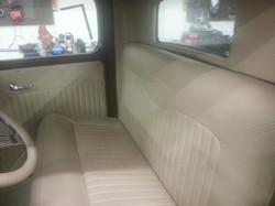 Backseat re-upholstry