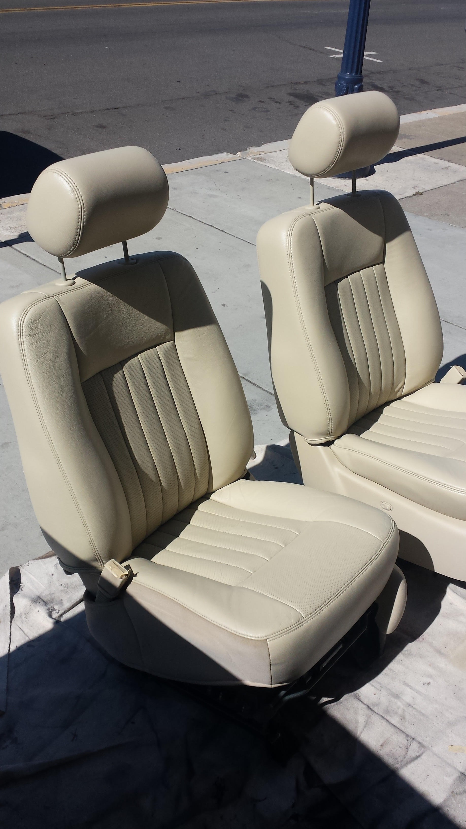 Seat Re-Upholtstry