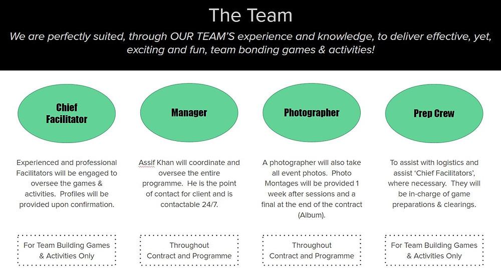 Corporate Team Building Singapore | The Electric Dreamz Team