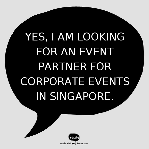 Event Company | Electric Dreamz | Singapore