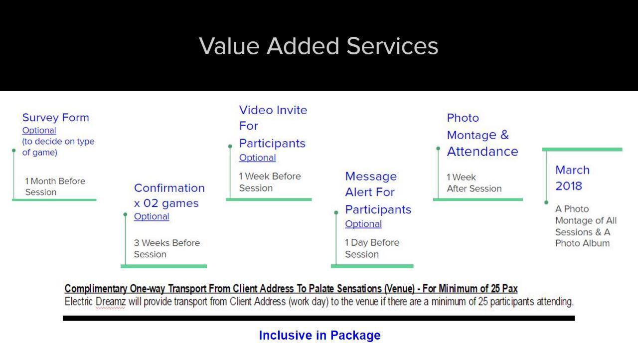 Event Management Companies in Singapore - Value-added Services by Event Company in Singapore