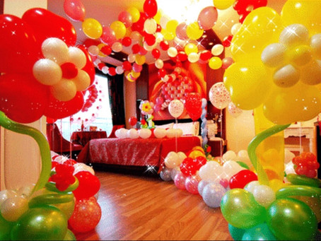 Balloon Decoration - 7 Awesome Custom Designs For Birthdays, Weddings, Corporate Events in Singapore