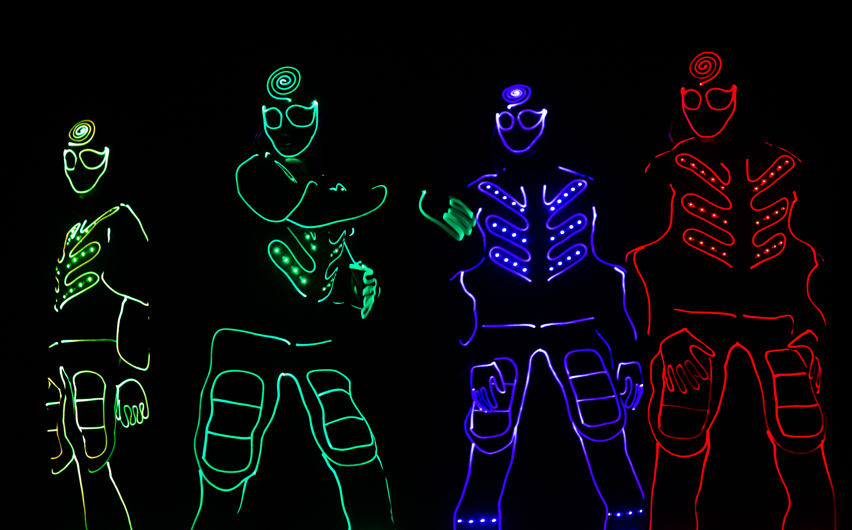 Dinner and Dance Event Entertainment: LED Light, LED Dance, Laser Shows - Electric Dreamz