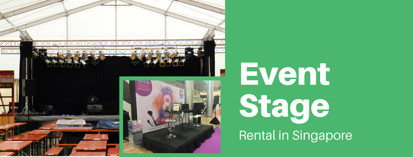Stage Rental Singapore - Electric Dreamz