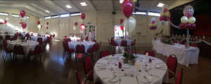 balloon table centrepieces - event decoration