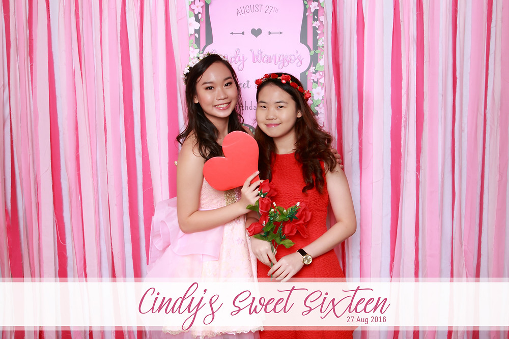 Photo Booth Singapore - Birthday Party Photo Booth Rental Service