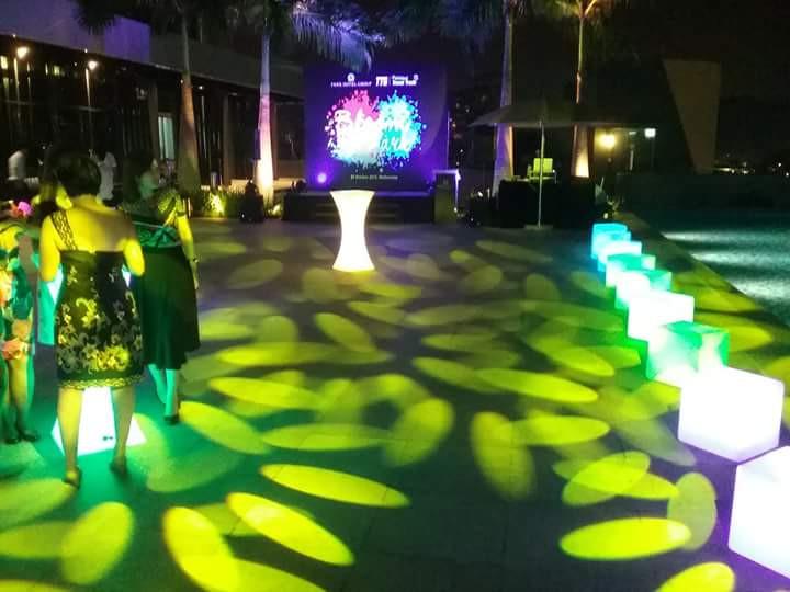 gobo lights rental