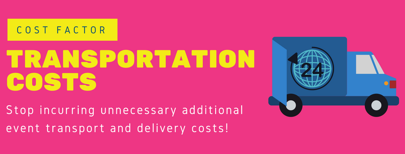 Event Rental Companies - Transport and Delivery Costs