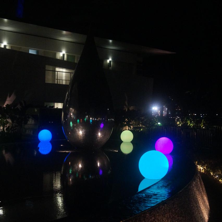 Illuminated Balls - Event Decorations