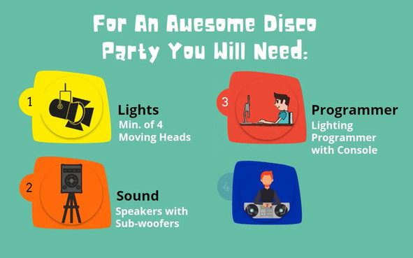 AV Rental - Everything You Need For Disco Parties in Singapore - Electric Dreamz