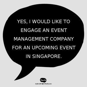 Event Management Company Singapore - Electric Dreamz | Contact Us