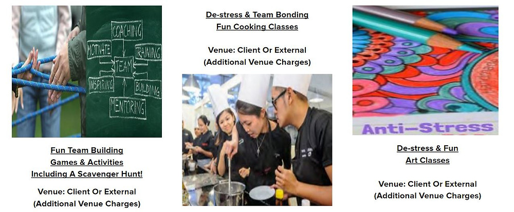 Customised Corporate Team Building Proposals